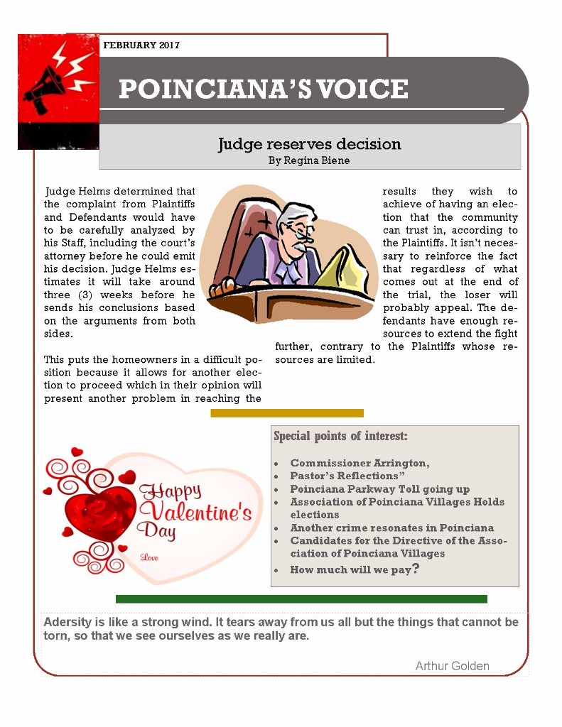 Feb 2017 Poinciana Voice