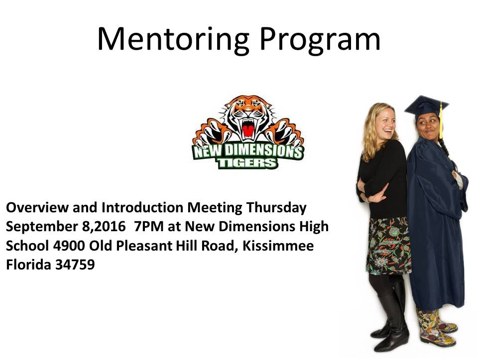 Mentoring Meeting Announce