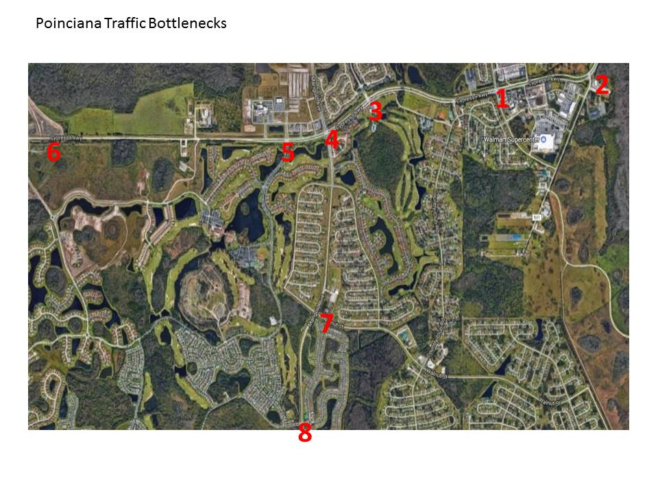 Poinciana Traffic Bottlenecks Feb 2017