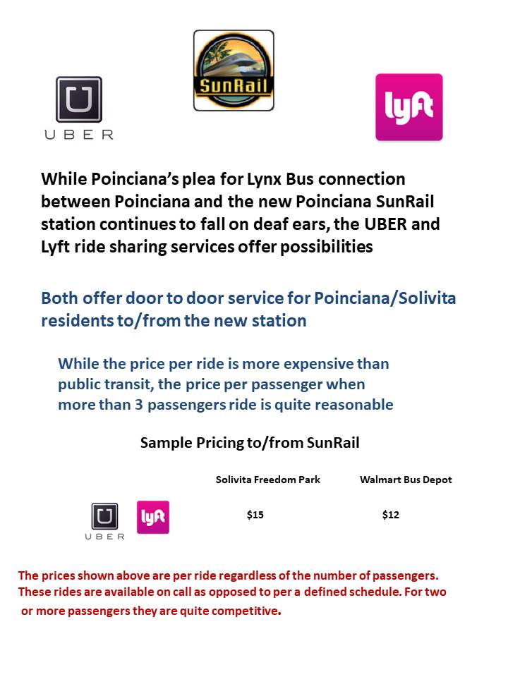 Ride share flyer