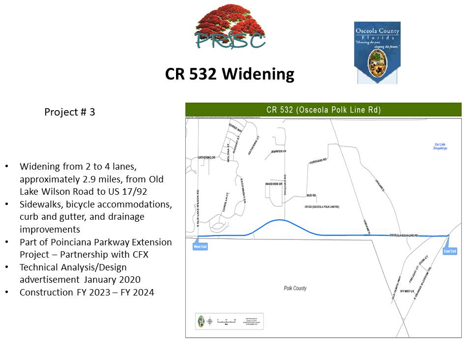 CR532 Widening