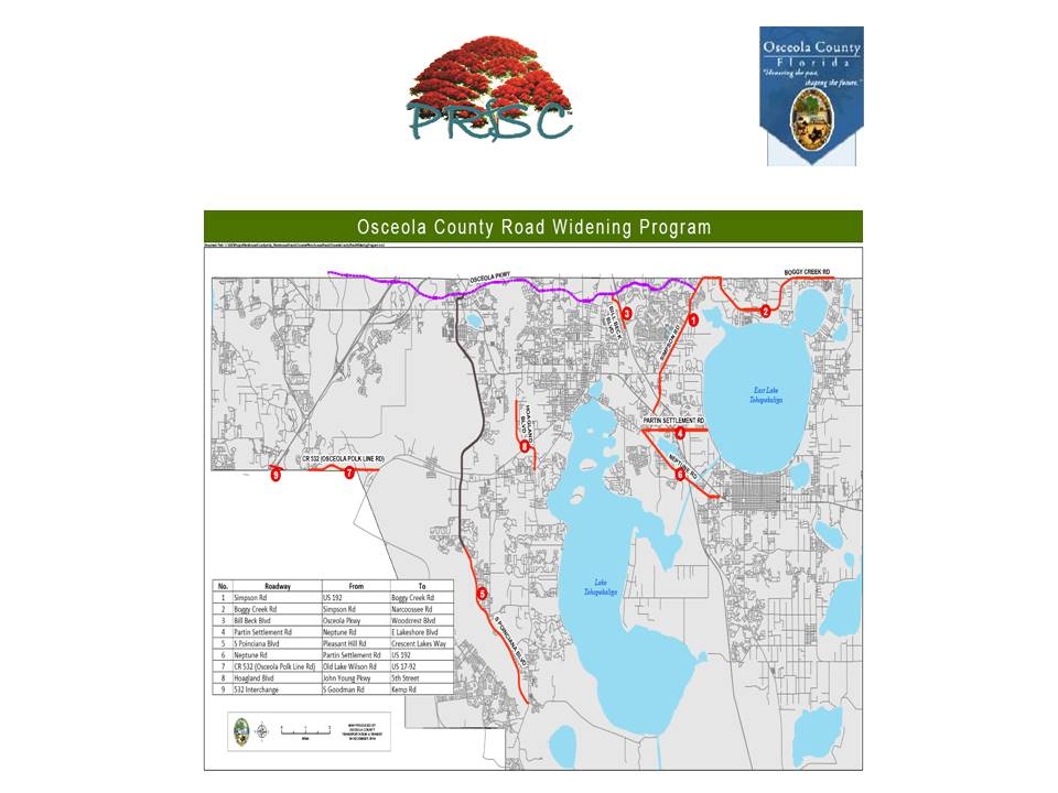 Osceola Road expansions