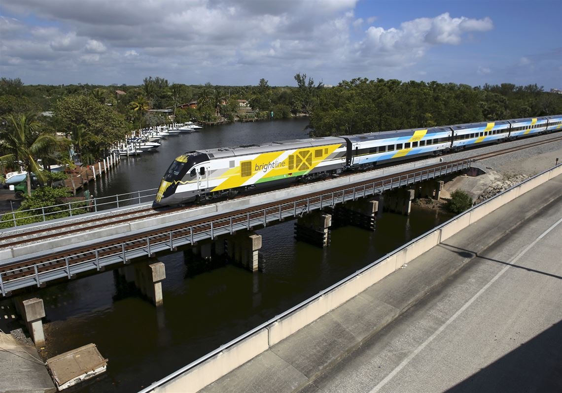 Brightline train image
